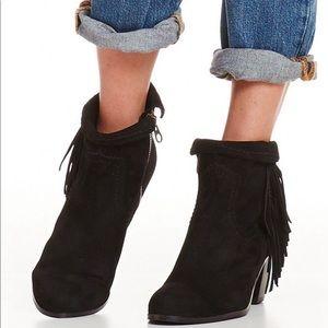 Sam Edelman Shoes - Sam Edelman Louie suede fringed bootie